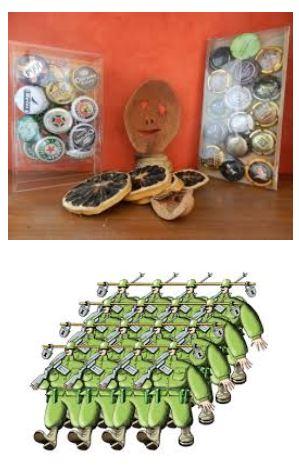 Juxtapositions oulipiennes d'images - Poésie des contrastes Dictat10