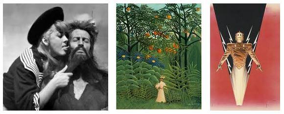 Juxtapositions oulipiennes d'images - Poésie des contrastes Eve10
