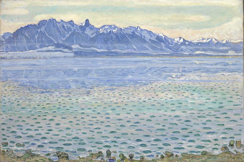 Exposition Hodler Monet Munch – Peindre l'impossible - Musée Marmottan Monet Hodler12