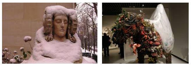Juxtapositions oulipiennes d'images - Poésie des contrastes Mariag10