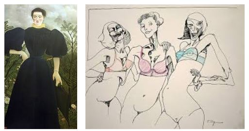 Juxtapositions oulipiennes d'images - Poésie des contrastes Mesdam10