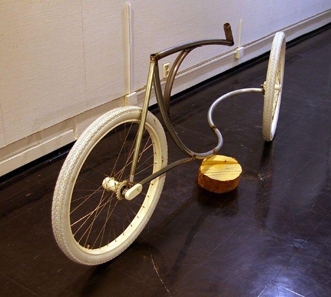 La bicyclette sans fourche d'Olli Errkilla Onwhee10
