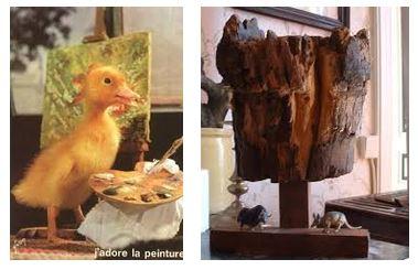 Juxtapositions oulipiennes d'images - Poésie des contrastes Portra10