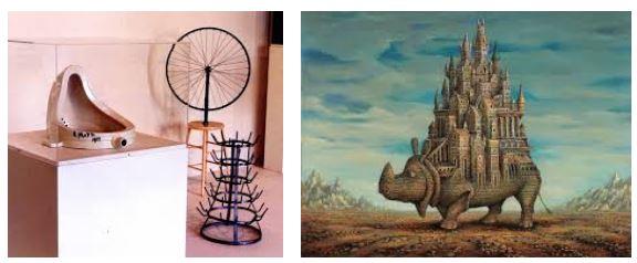 Juxtapositions oulipiennes d'images - Poésie des contrastes Rhino10