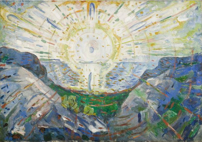 Exposition Hodler Monet Munch – Peindre l'impossible - Musée Marmottan Monet Soleil10