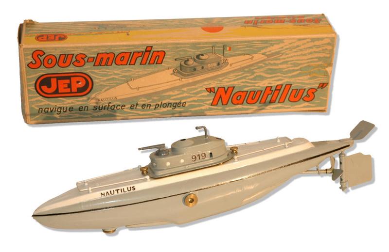sous-marins jouets et sous-marin musée Sous-m11