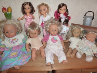 le mélange de mes poupées P1050011
