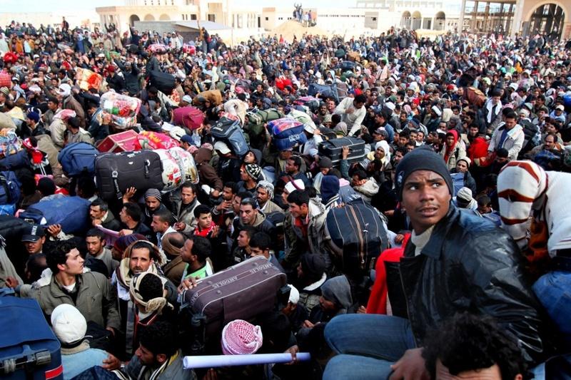 Allemagne : en 6 mois, les migrants impliqués dans 1425OO crimes et délits…780 par jour ! Migran10