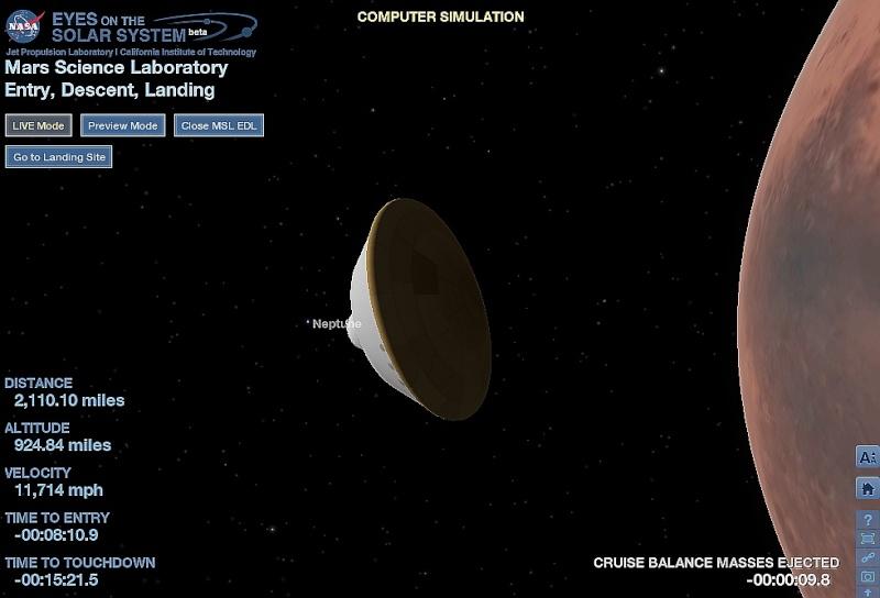 [Curiosity/MSL] Atterrissage sur Mars le 6 août 2012, 7h31 - Page 13 Sans_352