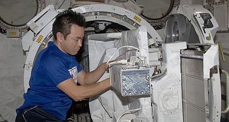 ISS: Expédition 33 (Déroulement de la mission) Sans_500
