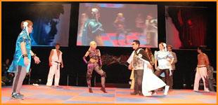 [Gamescom 2010] Le Show Street Fighter cross Tekken Gc_sho10