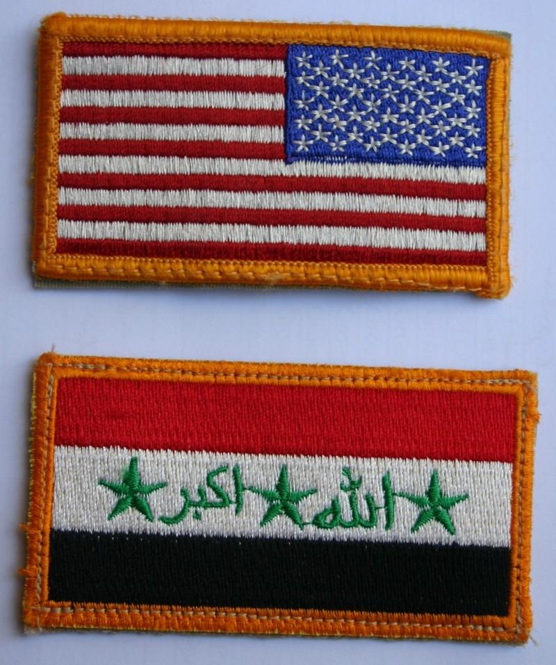Iraq Flag on velcro Img_0429