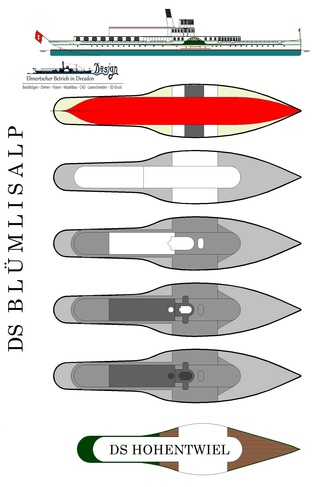 """DS """"Blümlisalp"""" - M1:150 - Probebau 1110"""