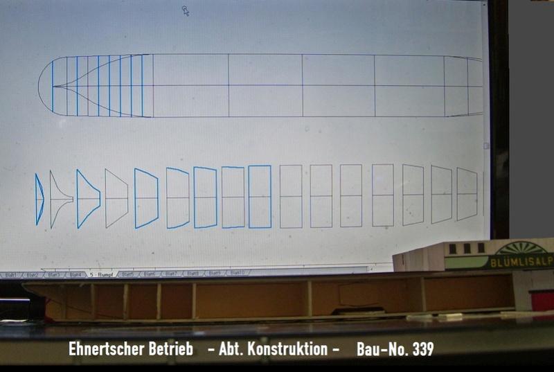 """DS """"Blümlisalp"""" - M1:150 - Probebau 301-110"""