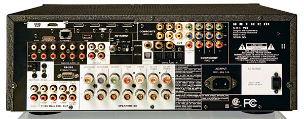 Anthem MRX700 AV Amp  700b11