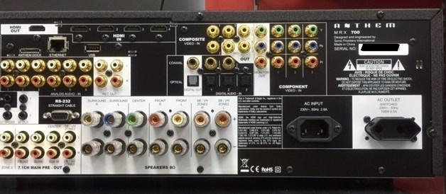 Anthem MRX700 AV Amp  Back_i12