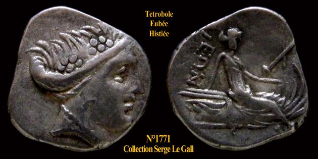 Vrai ou faux tétrobole d'argent d'Histiaia en Eubée ? 177110