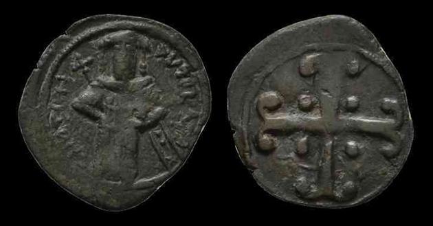 Assarion pour Andronicus III ... avec traces de surfrappe ! Andron11