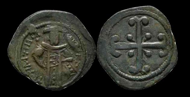 Assarion pour Andronicus III ... avec traces de surfrappe ! Andron12