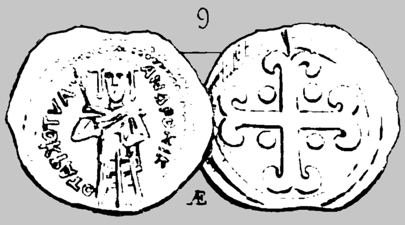 Assarion pour Andronicus III ... avec traces de surfrappe ! Andron13