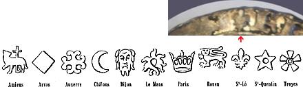 Un royal léopard ... Blanc aux écus d'Henri VI Diffyr10