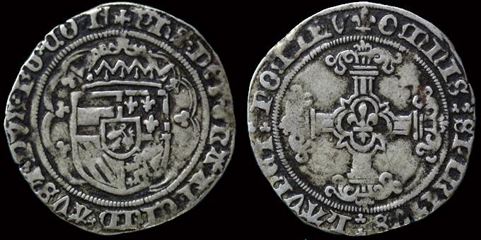 Patard (ou double patard) de Flandre pour Philippe le beau (1482-1506) ... ? Double11
