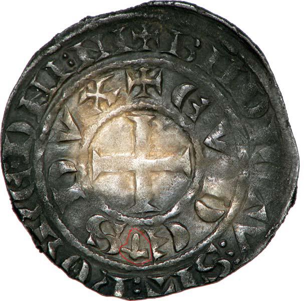 Demi gros ou maille blanche pour Eudes IV duc de Bourgogne ... Gros_e10
