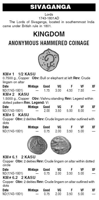 2 Kasu des Lords de Sivaganga en Inde ... Km_siv10