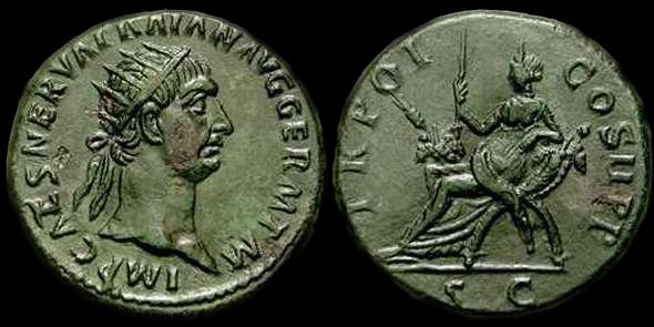 Trajan - Dupondius - RIC 411 Ric_0310