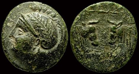 Bronze de Pergame en Mysie ... Sngpar10