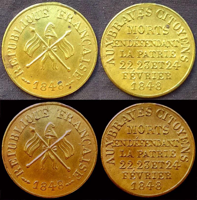 Médaille  révolutionnaire 1848  Wp_20111