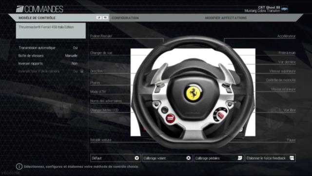 reglage volant V110