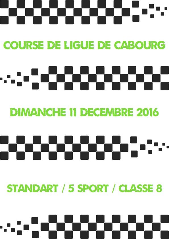 Course de ligue du 11/12/16 Cabourg Affich10