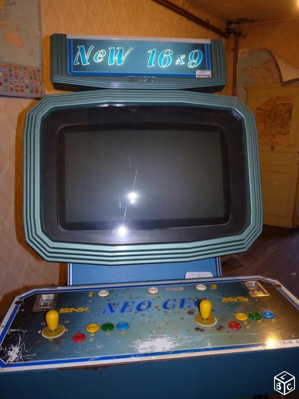borne arcade neo geo 16/9