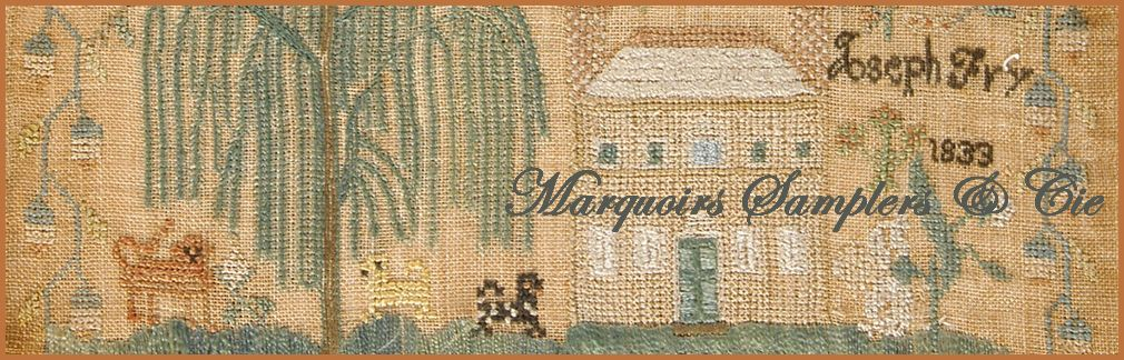 Marquoirs, Samplers et Cie
