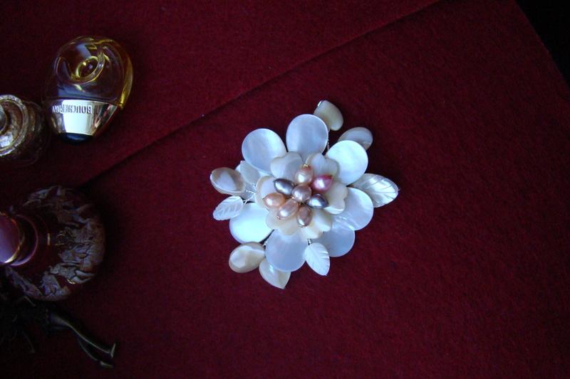 """""""Flori de piatră-Bijoux"""" albumul I-bijuterii artizanale marca Didina Sava Colie115"""