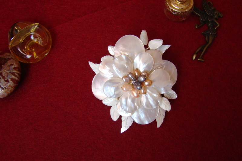 """""""Flori de piatră-Bijoux"""" albumul I-bijuterii artizanale marca Didina Sava Colie117"""