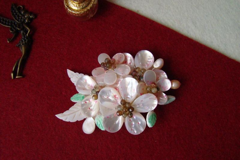 """""""Flori de piatră-Bijoux"""" albumul I-bijuterii artizanale marca Didina Sava Colie118"""