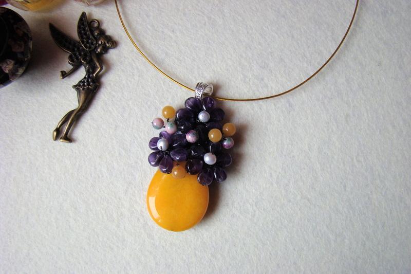 """""""Flori de piatră-Bijoux"""" albumul I-bijuterii artizanale marca Didina Sava - Pagina 2 Colier27"""
