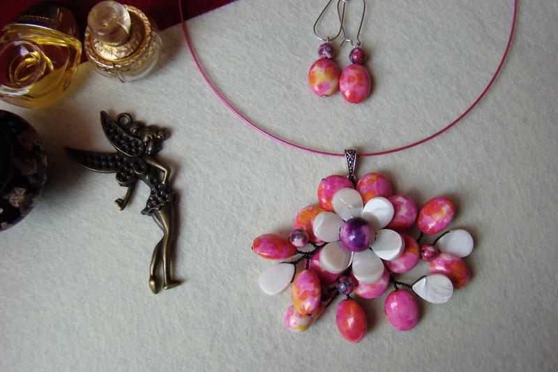 """""""Flori de piatră-Bijoux"""" albumul I-bijuterii artizanale marca Didina Sava - Pagina 2 Colier29"""