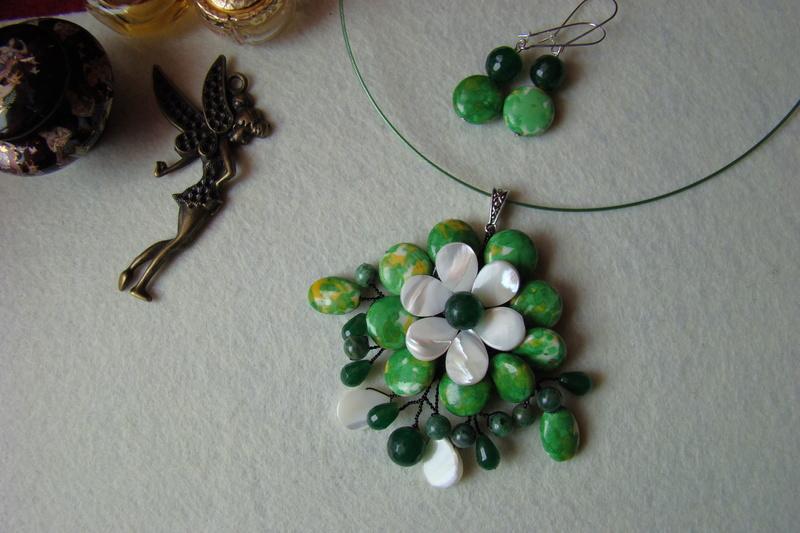 """""""Flori de piatră-Bijoux"""" albumul I-bijuterii artizanale marca Didina Sava - Pagina 2 Colier31"""