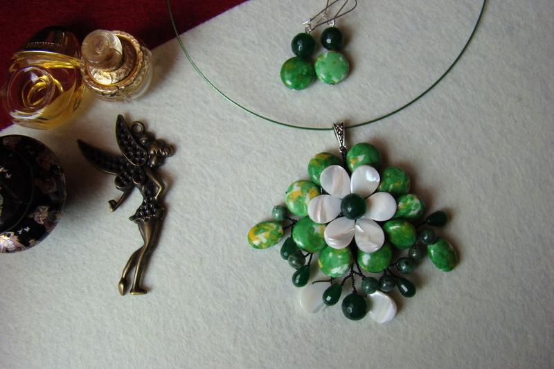 """""""Flori de piatră-Bijoux"""" albumul I-bijuterii artizanale marca Didina Sava - Pagina 2 Colier32"""