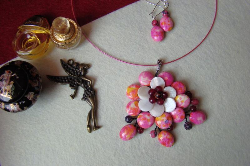 """""""Flori de piatră-Bijoux"""" albumul I-bijuterii artizanale marca Didina Sava - Pagina 2 Colier34"""