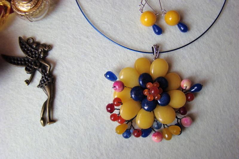 """""""Flori de piatră-Bijoux"""" albumul I-bijuterii artizanale marca Didina Sava - Pagina 2 Colier36"""