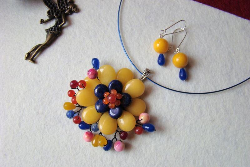"""""""Flori de piatră-Bijoux"""" albumul I-bijuterii artizanale marca Didina Sava - Pagina 2 Colier37"""