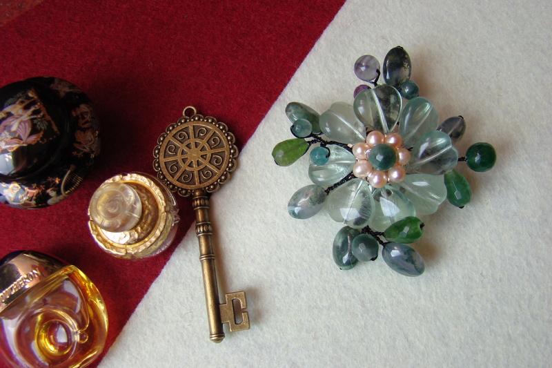 """""""Flori de piatră-Bijoux"""" albumul I-bijuterii artizanale marca Didina Sava - Pagina 2 Colier44"""