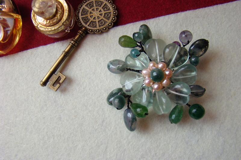 """""""Flori de piatră-Bijoux"""" albumul I-bijuterii artizanale marca Didina Sava - Pagina 2 Colier45"""