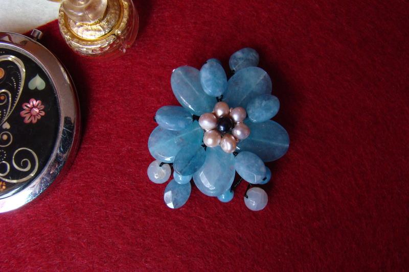 """""""Flori de piatră-Bijoux"""" albumul I-bijuterii artizanale marca Didina Sava - Pagina 2 Colier51"""