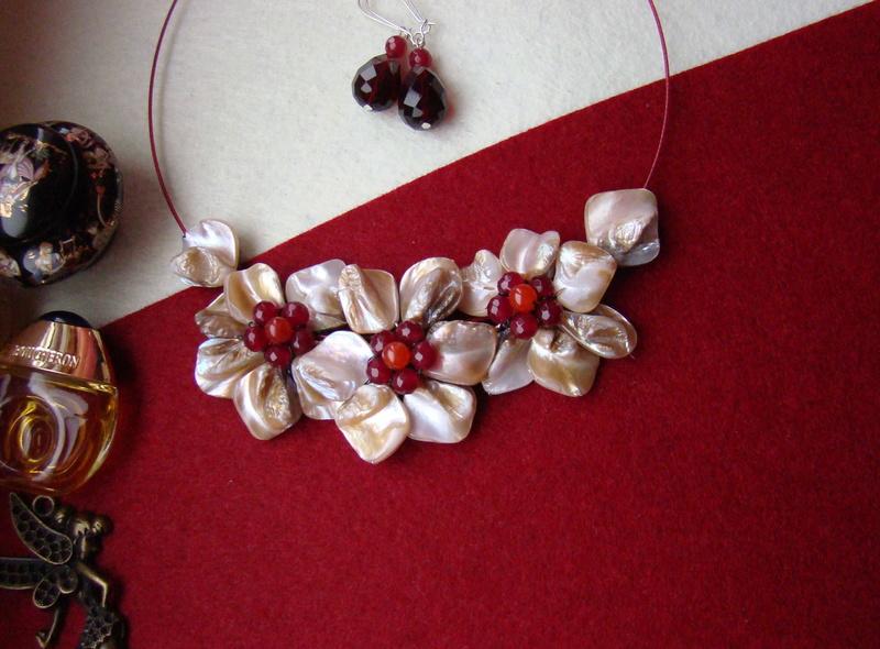 """""""Flori de piatră-Bijoux"""" albumul I-bijuterii artizanale marca Didina Sava - Pagina 2 Colier69"""