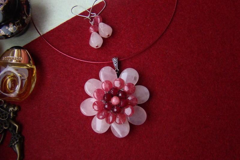 """""""Flori de piatră-Bijoux"""" albumul I-bijuterii artizanale marca Didina Sava - Pagina 2 Colier71"""